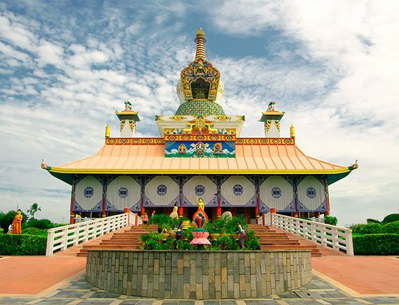 Visit Lumbini, the birthplace of lord buddha & a UNESCO World Heritage Site that is just a 30 minute drive from our resort in Nepal. Submerge yourself to the culture and tradition of Nepal.